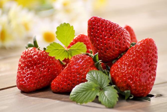 Buah strawberry untuk penderita diabetes